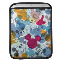 Mickey & Friends | Mouse Head Sketch Pattern Sleeve For iPads