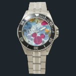 "Mickey &amp; Friends | Mouse Head Sketch Pattern Wrist Watch<br><div class=""desc"">Mickey &amp; Friends - Mickey</div>"