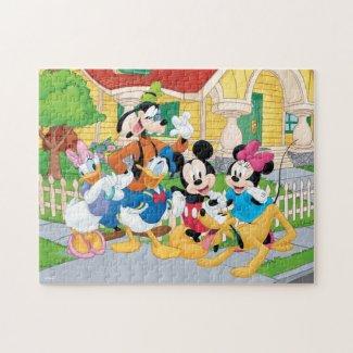 Mickey & Friends Neighborhood Jigsaw Puzzle