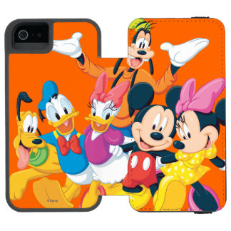 Mickey & Friends | Picture Perfect iPhone SE/5/5s Wallet Case