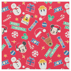 Combed Cotton Fabric with Pluto design