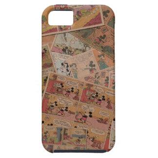 Mickey & Friends   Retro Colored Comic Strip iPhone SE/5/5s Case