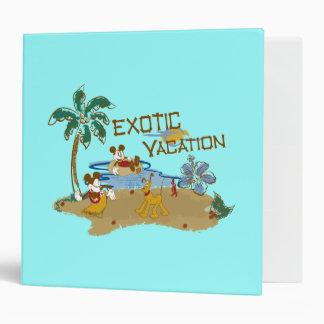 Mickey & Friends | Vacation Binder