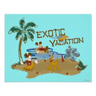 Mickey & Friends | Vacation Poster
