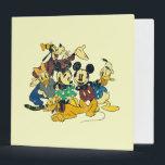 "Mickey &amp; Friends | Vintage Hug Binder<br><div class=""desc"">Multiple Characters</div>"