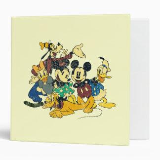Mickey & Friends | Vintage Hug Binder