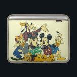 "Mickey &amp; Friends | Vintage Hug MacBook Sleeve<br><div class=""desc"">Multiple Characters</div>"