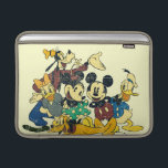 "Mickey &amp; Friends | Vintage Hug MacBook Sleeve<br><div class=""desc"">Multiple Characters</div>"
