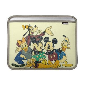 Mickey & Friends | Vintage Hug MacBook Sleeve