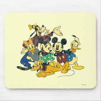 Mickey & Friends | Vintage Hug Mouse Pad
