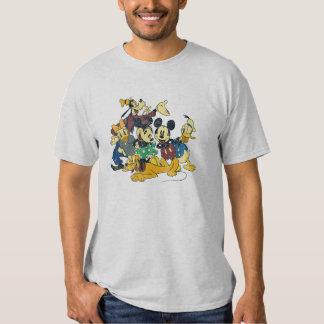 Mickey & Friends   Vintage Hug T Shirt