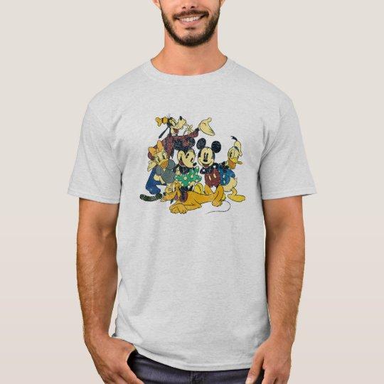Mickey & Friends   Vintage Hug T-Shirt