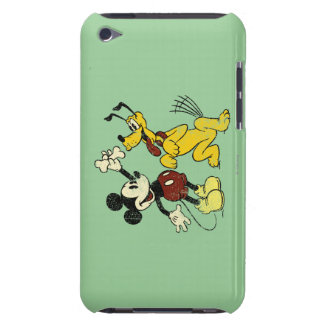 Mickey & Friends | Vintage Mickey & Pluto iPod Touch Case-Mate Case