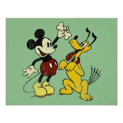 Matte Poster with Mickey Mouse & Friends Posters design