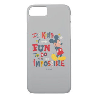 Mickey | Fun To Do The Impossible 2 iPhone 8/7 Case