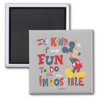 Mickey   Fun To Do The Impossible 2 Magnet