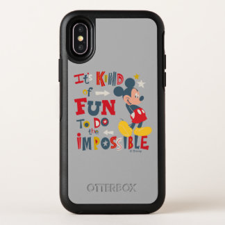 Mickey | Fun To Do The Impossible 2 OtterBox Symmetry iPhone X Case