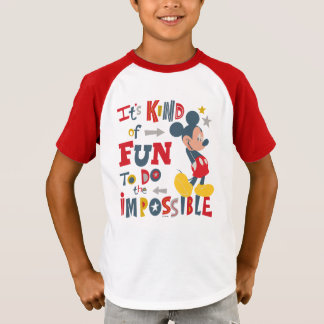 Mickey | Fun To Do The Impossible T-Shirt