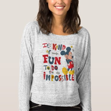 Disney Themed Mickey | Fun To Do The Impossible T-shirt