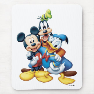 Mickey, Goofy, and Donald Mouse Pad