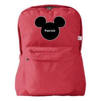 Mickey Head Icon American Apparel™ Backpack