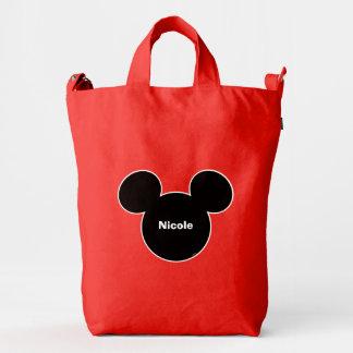 Mickey Head Icon Duck Bag