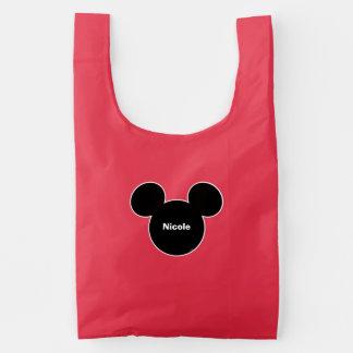 Mickey Head Icon Reusable Bag