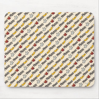 Mickey Icon Pattern Mouse Pad
