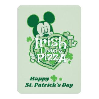 Mickey | Irish I had a Pizza Card