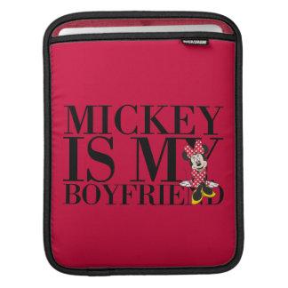 Mickey is My Boyfriend Sleeve For iPads