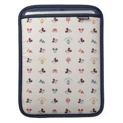iPad Sleeve with Mickey Mouse Patterns design