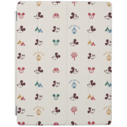 Mickey Mouse Patterns iPad 2/3/4 Cover