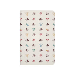 Pocket Journal with Mickey Mouse Patterns design