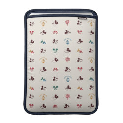 Mickey Mouse Patterns Macbook Air Sleeve