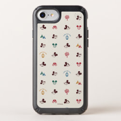 Speck Presidio iPhone 8/7/6s/6 Case with Mickey Mouse Patterns design