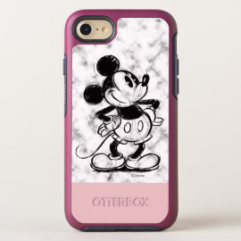 Mickey | Marble OtterBox Symmetry iPhone 8/7 Case
