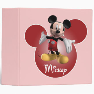 Mickey Mickey Clubhouse | Head Icon 3 Ring Binder