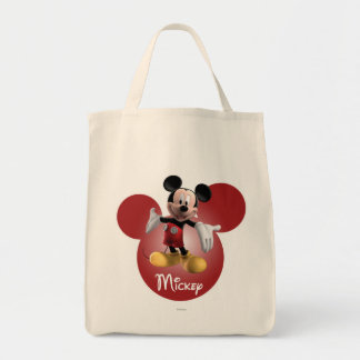Mickey Mickey Clubhouse | Head Icon Tote Bag
