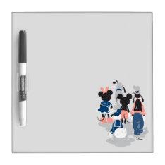Mickey   Mickey Friend Turns Dry-erase Board at Zazzle