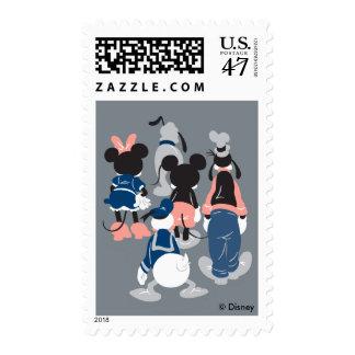 Mickey | Mickey Friend Turns Postage