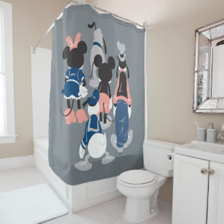 Mickey | Mickey Friend Turns Shower Curtain