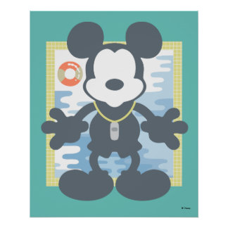 Mickey | Mickey Life Guard 4 Poster