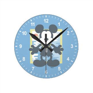Mickey | Mickey Life Guard Round Clock
