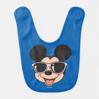 Mickey | Mickey Smiling Sunglasses Baby Bib