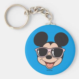 Mickey | Mickey Smiling Sunglasses Keychain