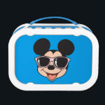 """Mickey   Mickey Smiling Sunglasses Lunch Box<br><div class=""""desc"""">Disney Fast Fashion - Mickey smiling as he thinks of upcoming summer fun!</div>"""