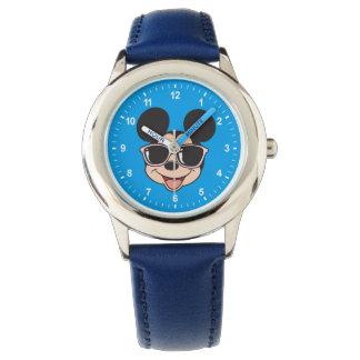 Mickey | Mickey Smiling Sunglasses Wrist Watch