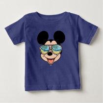 Mickey | Mickey Tropical Sunglasses 3 Baby T-Shirt