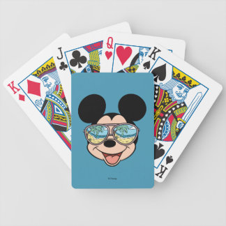 Mickey | Mickey Tropical Sunglasses Bicycle Playing Cards