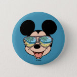"""Mickey   Mickey Tropical Sunglasses Button<br><div class=""""desc"""">Disney Fast Fashion - Mickey smiling as he enjoys the warm tropical sun and cool breezes!</div>"""